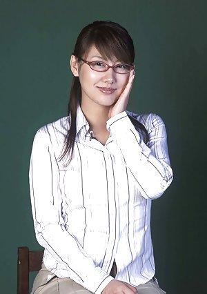 Asian in Glasses Pics